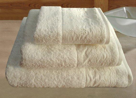 Royal Kremowy ręcznik bawełniany GRENO