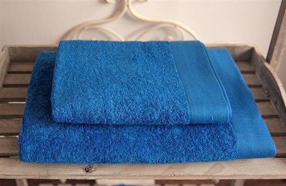 BAMBOO STYLE Głęboki Niebieski Komplet Ręczników Bambusowych Andropol