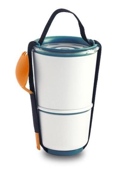 BB - Pojemnik Lunch Pot, pomarańczowo-niebieski