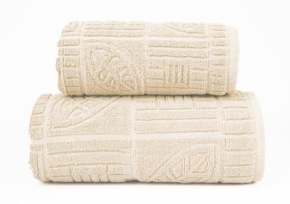 BONITA  KREMOWY ręcznik bawełniany GRENO