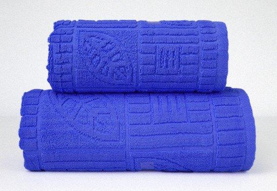 BONITA  NIEBIESKI ręcznik bawełniany GRENO