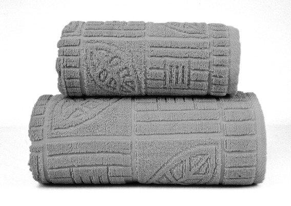 BONITA POPIELATY ręcznik bawełniany GRENO