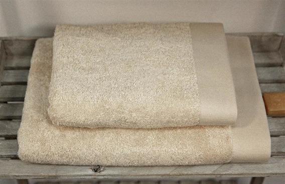 Bamboo Style Beż Komplet Ręczników Bambusowych Andropol