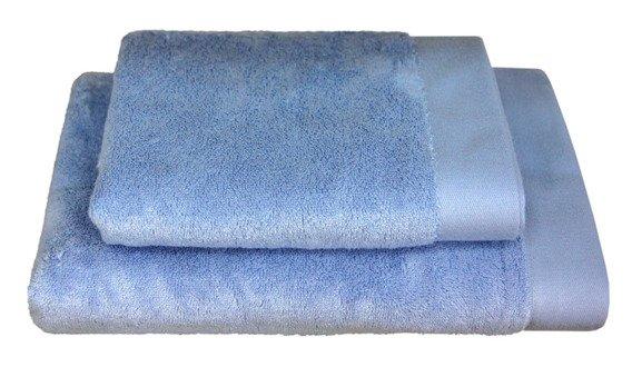 Bamboo Style - Pudrowy Niebieski ręcznik bambusowy ANDROPOL