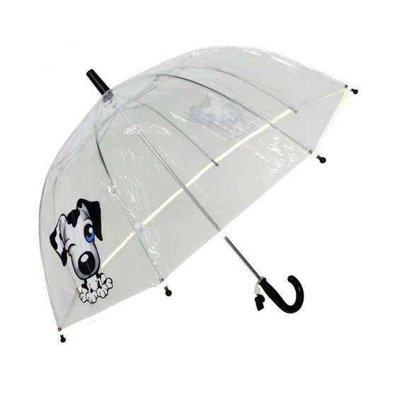 Dziecięcy parasol przezroczysty z gwizdkiem, mix