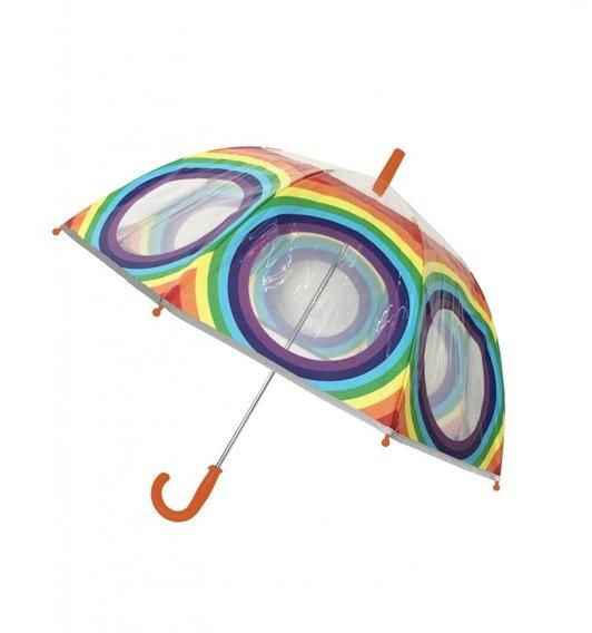Dziecięcy parasol, tęcza