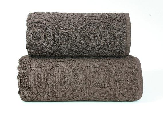 EMMA 2  BRĄZOWY ręcznik bawełniany GRENO