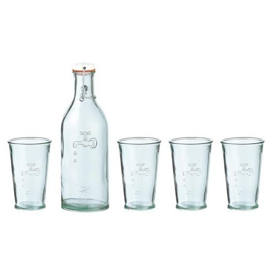 Eko butelka + szklanki 4 szt. Jamie Oliver 803556