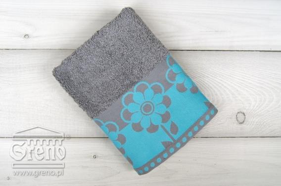 FIORI turkusowy ręcznik bawełniany FROTEX