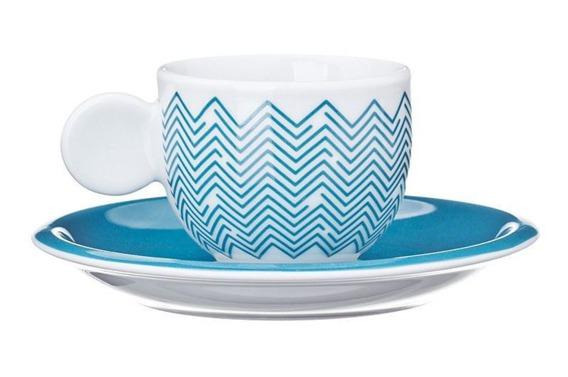 Filiżanka do espresso ONDA United Colors of Benetton, 4 kolory niebieski