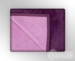 GLAMOUR Koc, 7 kolorów Greno lawendowo-śliwkowy