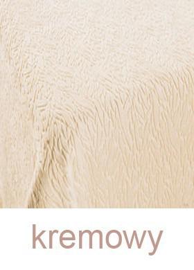 Koc IBERIA DE LUX, 11 kolorów Greno kremowy