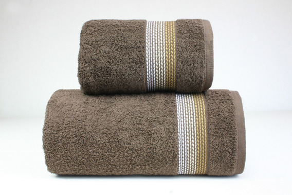OMBRE BRĄZOWY ręcznik bawełniny FROTEX