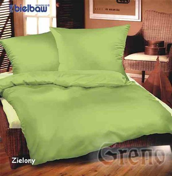 Pościel satynowa Bielbaw zielony