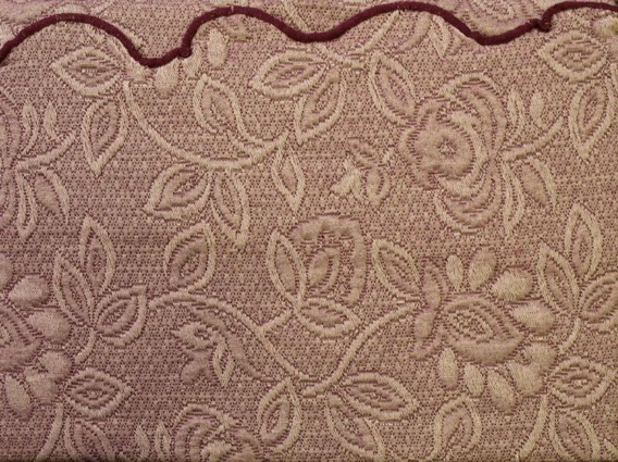 Poszewka dekoracyjna FLOWER Greno bordo