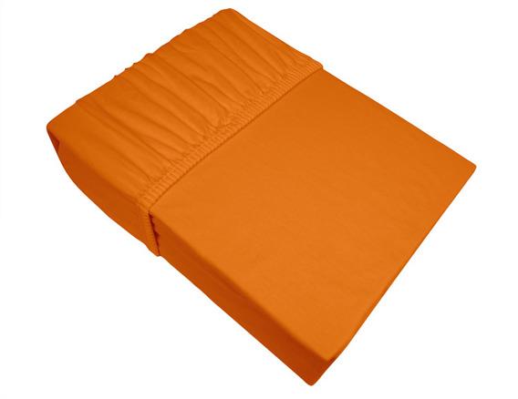 Prześcieradło jersey z gumką Frotex pomarańczowe 037