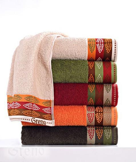 Ręcznik  AFRICA Greno pomarańczowy