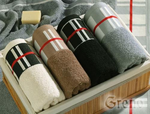 Ręcznik BRUTALLE Greno stalowy