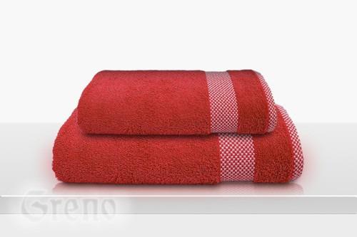 Ręcznik Bawełniany GRINGO Frotex czerwony