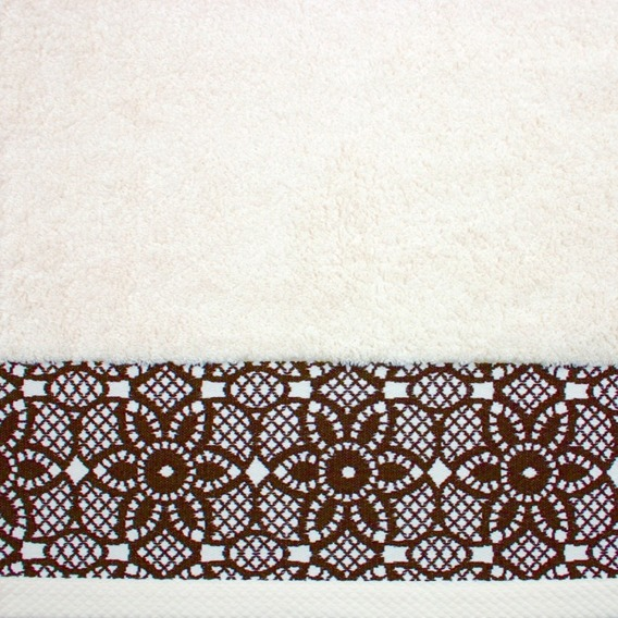 Ręcznik Bawełniany ILLUSION Greno kremowy