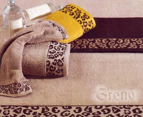 Ręcznik JAGUAR Greno brązowy