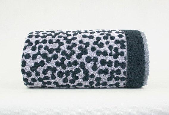 Ręcznik MARCO Frotex czarny stalowy