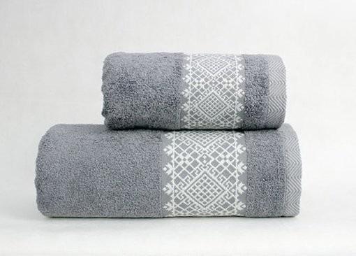 Ręcznik PORTO Greno kremowo-brązowy