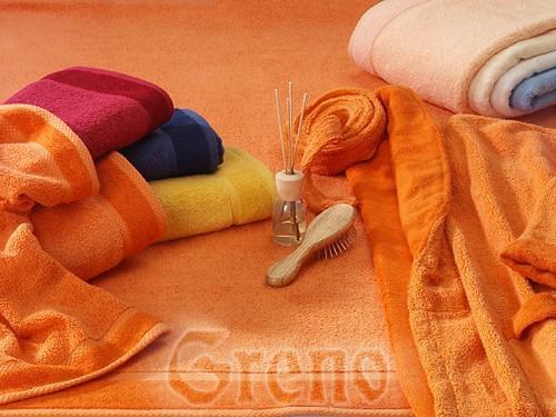 Ręcznik SOFT Greno żółty