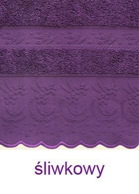 Ręcznik VIANA Greno śliwkowy