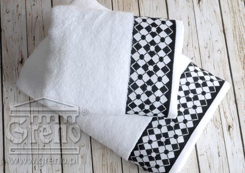 Ręcznik WILLIAM Greno biały