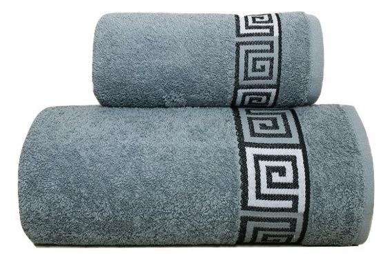 Ręcznik bawełniany DUNAJ Frotex popielaty