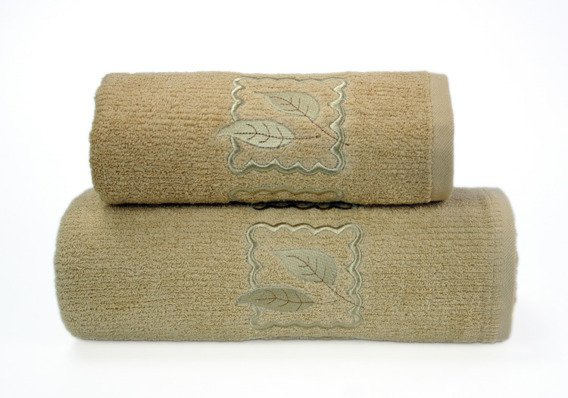 Ręcznik bawełniany GRACJA Greno beżowy