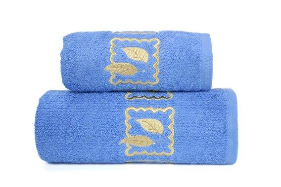 Ręcznik bawełniany GRACJA Greno niebieski
