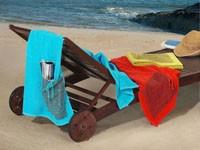 Ręcznik plażowy PRACTICAL Greno lemon