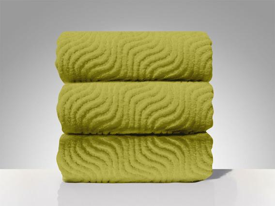 Ręczniki O.K. Greno pistacjowy
