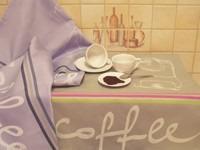 Ściereczki kuchenne COFFEE MILL Greno fioletowy