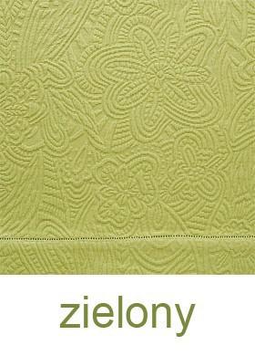 Wiosenna Bawełniana Narzuta Marcia  Greno zielony