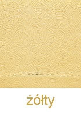 Wiosenna Bawełniana Narzuta Marcia  Greno żółty
